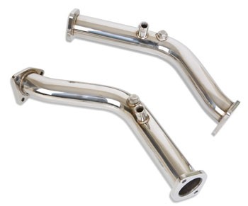 Berk 60mm (2.4 inch) stainless steel test pipes for the 03+ 350z