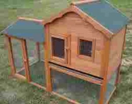 Luxury rabbit house with no mortgage!