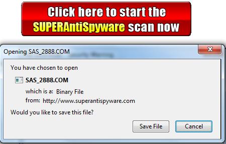 SUPERAntiSpyware Online Safe Scanner