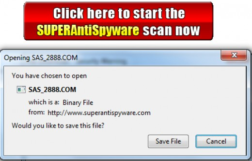 SUPERAntiSpyware Online Safe Scanner