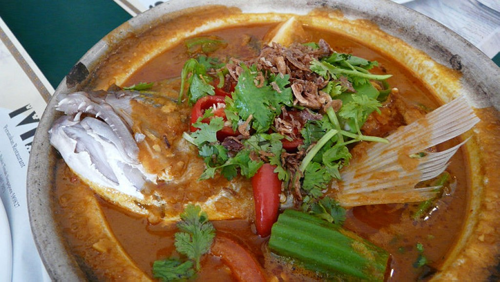 Fish head curry recipe my favourite spicy and for Fish head recipe