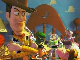 Toy Story 3...funny, happy...yet...sad