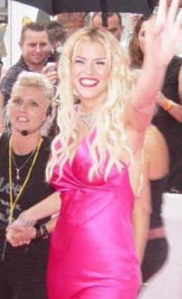 Anna Nicole Smith  copyright Toby Forage