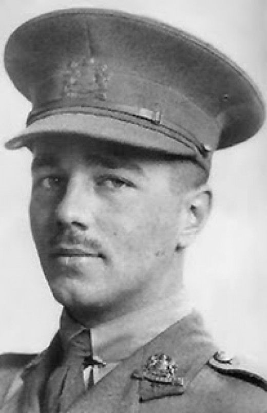 Wilfred Owen: another poet that I studied at school.  I did love his work, because for some reason I found it so easy to understand - war poetry: not funny at all, and even I am not sure why I can appreciate it.