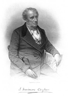 James Fenimore Cooper, engraving by J. C. Buttre
