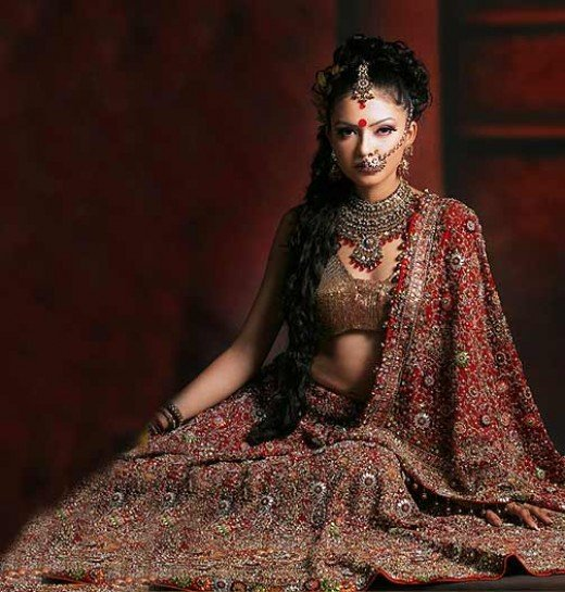 Wedding Dresses Of India