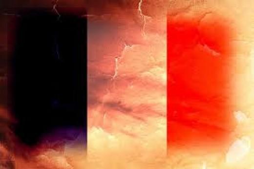 France Flag (Montage)