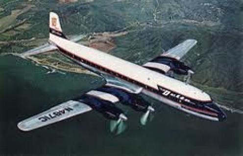DC- 7 Style Plane.