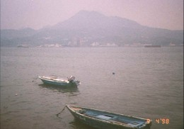 The Tamsui river feeds into the Formosan straits that separate Taiwan from the Mainland