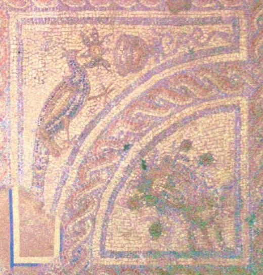 Mosaic, Brading Roman Villa