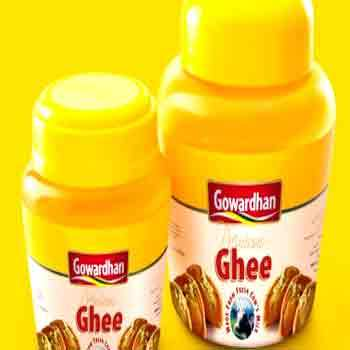 Ghee is available in markets