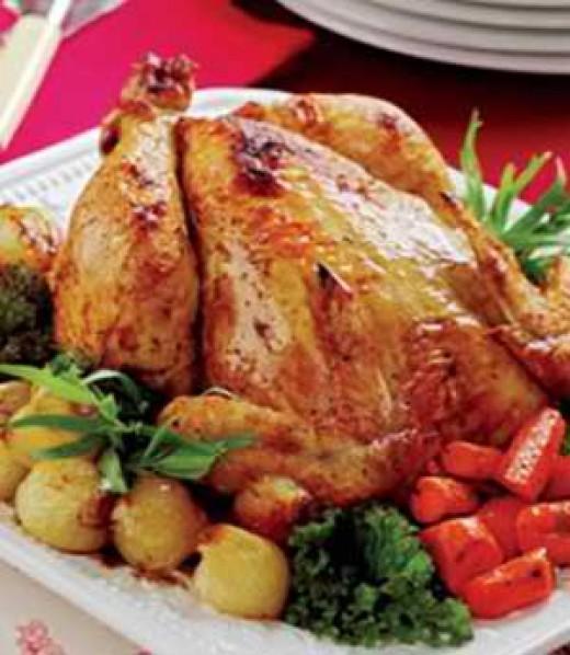 Simple Roast Chicken (Courtesy of: lifescript.com)