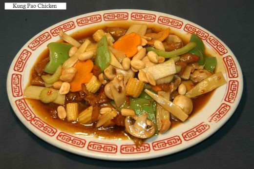 Kung Pao Chicken (Courtesy of chinese-food-info.com)