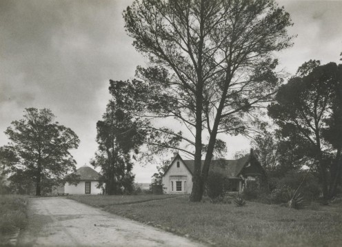 "The old ""Manse"" at Blythswood, taken with my first camera, in about 1957."