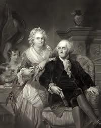 George And Martha Washington.