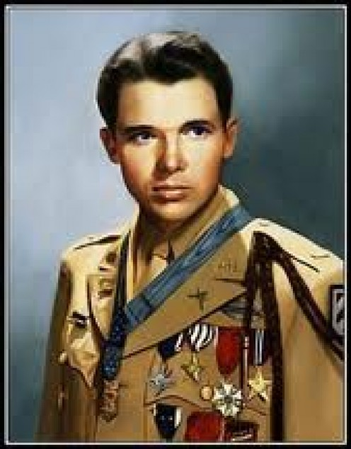 Audi Murphy. Decorated Soldier. Congressional Medal Of Honor. World War 2 Hero.