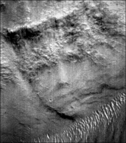 Another face on mars?