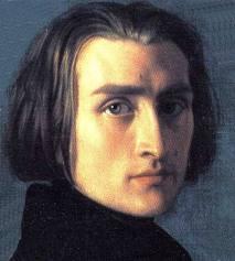Franz Liszt. Women fought to possess even his glove.