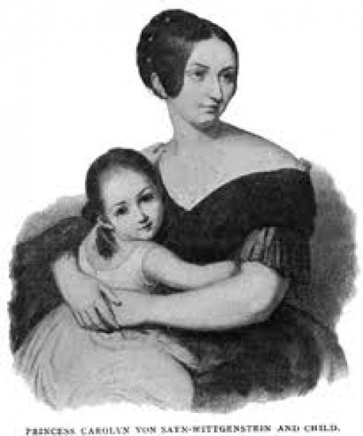 The Princess who put her daughter before her love of Franz Liszt.