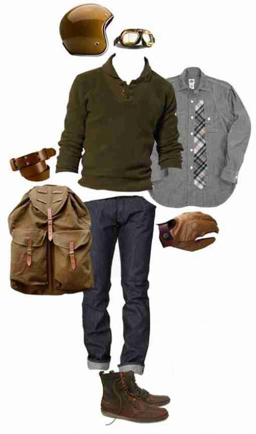 A Modern Gentleman's clothing