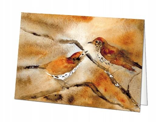 Woodthrushes In Love - Roderick MacIver