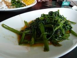 Tumis kangkung or Kangkung stir-fried