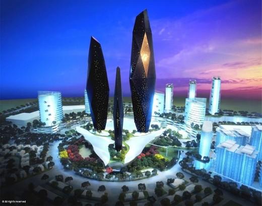 Plans for SETIA ECO CITY; Johor Bahru, Maleysia