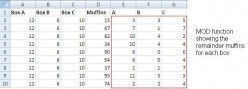 How to Use the MOD Function in Excel