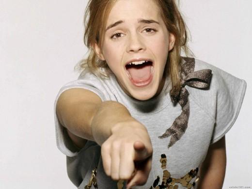 Emma Watson pointing at you!!