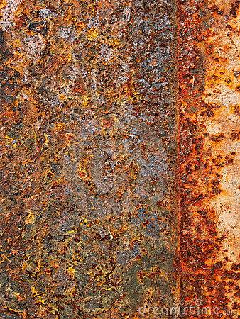 Picture: the oxidation of Iron is known as rust