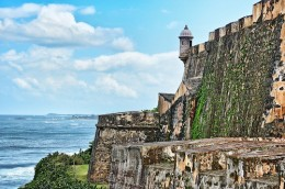 This is not Fort Aguada in Goa.  I couldn't load bitmat with Hubpages, but you'll get the idea.