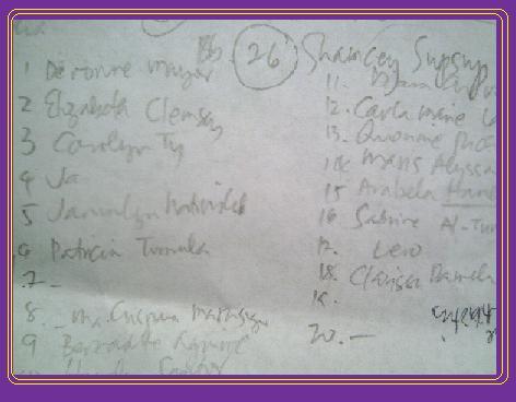 Names of the Girls-often misspelled @ Bb. Pilipinas 2011
