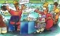 Gabriel's Groans: Is Online Shopping The Way To Go? Why A Trip To The Supermarket Made Me See Red!