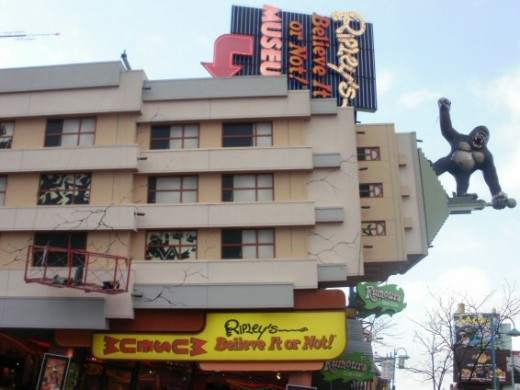 Ripley's Believe it or Not! museum in Clifton Hill, Niagara Falls