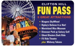 The Fun Pass is a great deal and will allow you to check out a lot if Clifton Hill's great attractions, including Ripley's Believe it or Not