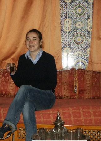 Tea Time in Ouarzazate, Morocco.