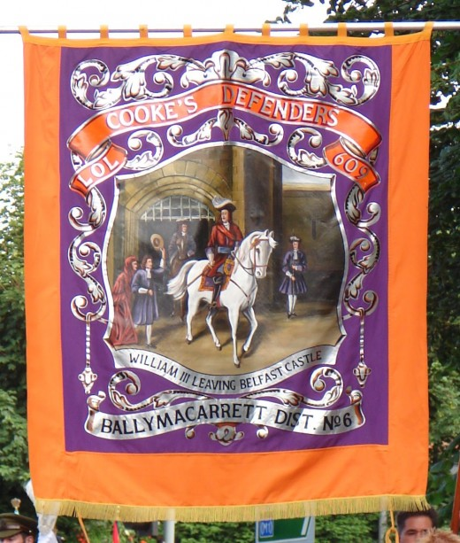 The victory of Willaim of Orange is still commemorated by Protestants (mainly in the north of Ireland) every 12th of July.