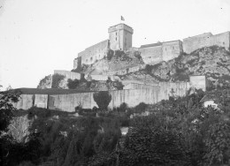 The castle at Lourdes, seen in 1898