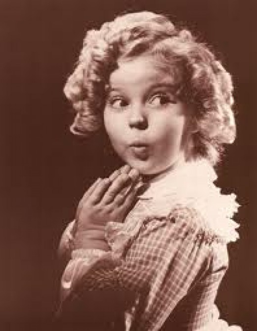Who can talk about curls without mentioning the name Shirley Temple