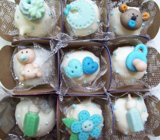 Fun baby-related baby shower food is a fun little addition to baby shower planning that can really set your event apart from all the others