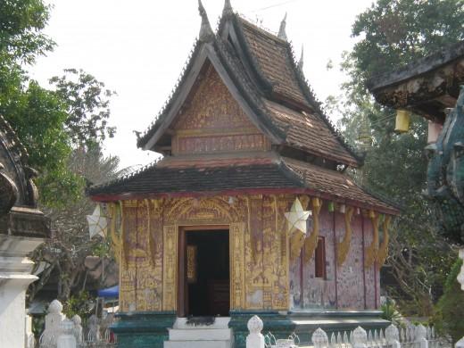 Wat Xieng Thong, Luang Prabang, Laos.