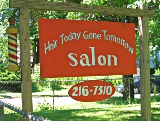 Hair Today Gone Tomorrow