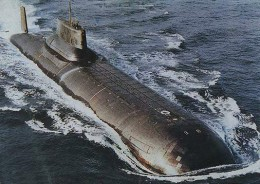 Hunt for Red October submarine