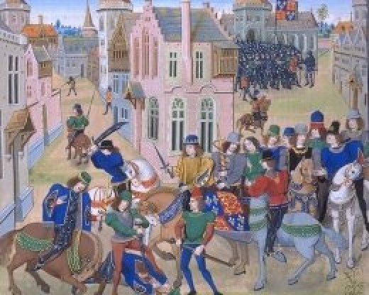 Wat Tyler and the peasants revolt