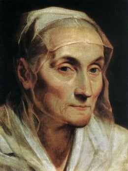 Portrait of an Old Woman by Guido Reni