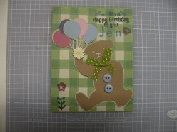 Easy to Make Card Using a Cricut Idea- Happy Birthday