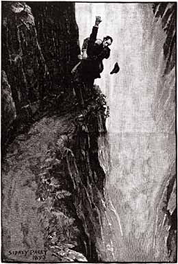 Sherlock Holmes lost his life being pushed over the Reichenbach falls.