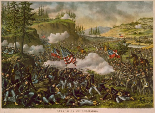 One of the most deadly battles in the Western front and the only solid win by the Confederacy.