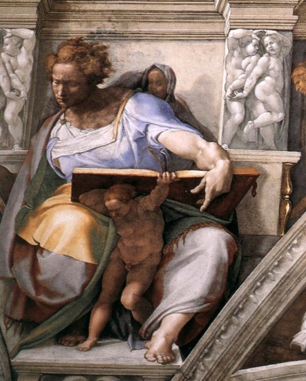 The Prophet Daniel, Michelangelo Buonarroti (1475-1564)