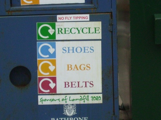Recycle as much as possible
